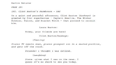 Barton Returns Page 1