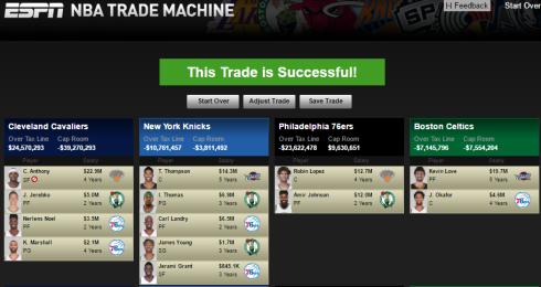 Kevin Love Carmelo Trade